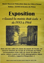 affiche exposition Mairie Ecole