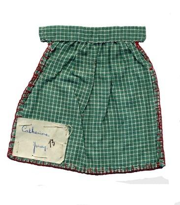Travail de couture (collection musée de l'école de bothoa)