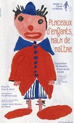 Affiche exposition musée école